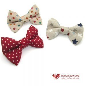 Fabric Dog Dickie Bows