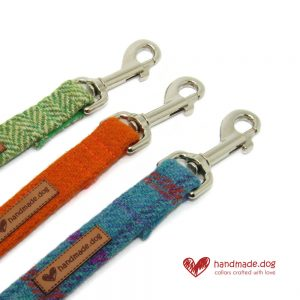 Harris Tweed Dog Leads