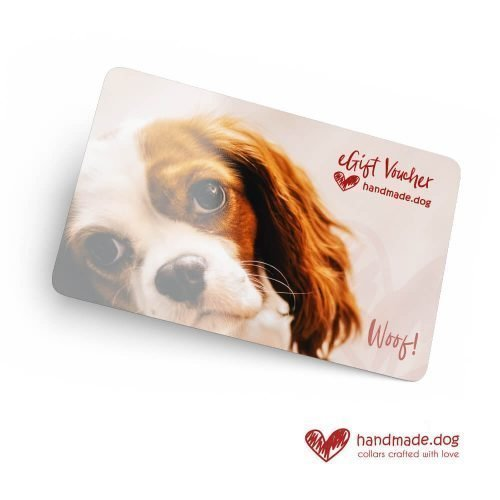 handmade.dog eGift Vouchers