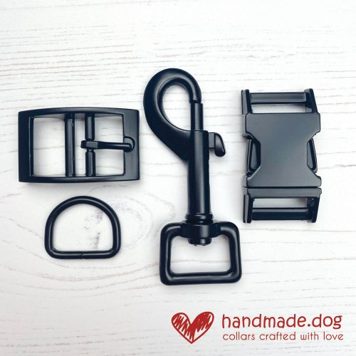 handmade.dog Matte Black Hardware