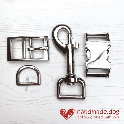 handmade.dog Silver Coloured Hardware