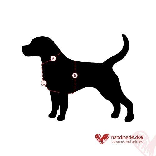 handmade.dog Harness Measurements