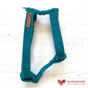 handmade.dog 'Harris Tweed' Dog Harness