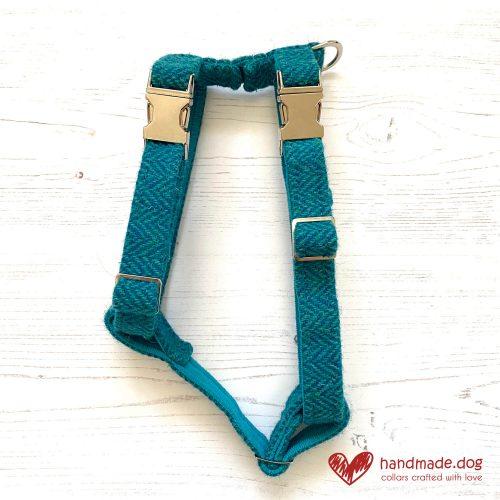 handmade.dog 'Harris Tweed' Dog Harness