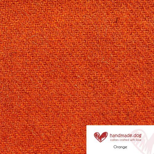 Orange 'Harris Tweed'