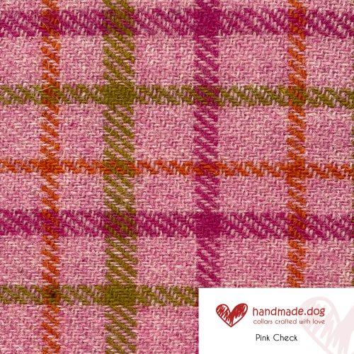Pink Check 'Harris Tweed'