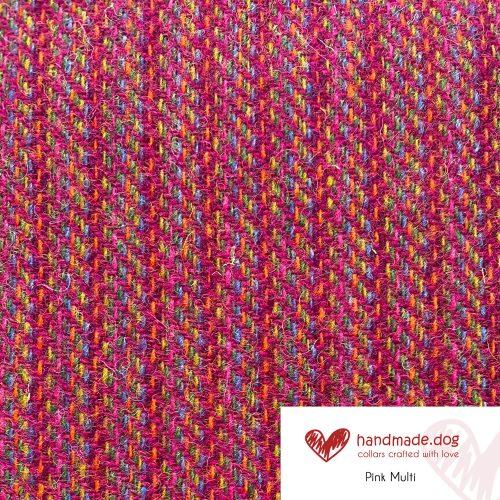 Pink Multi 'Harris Tweed'
