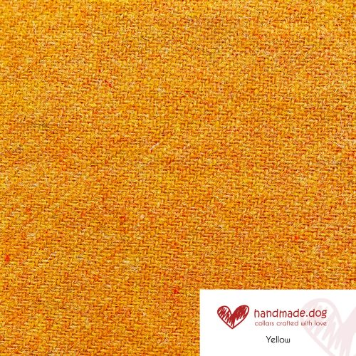 Yellow 'Harris Tweed'