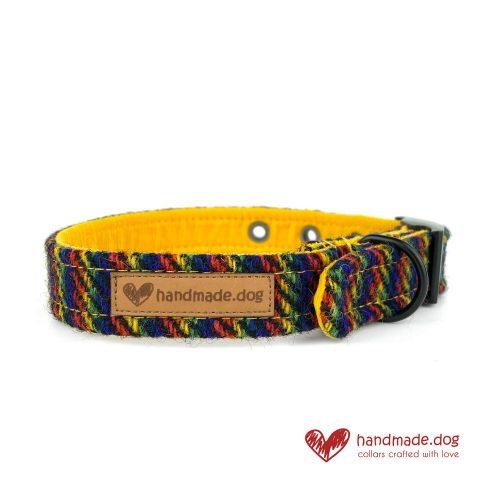 Handmade 'Harris Tweed' Limited Edition Manhattan Dog Collar