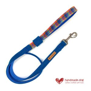 Handmade 'Harris Tweed' Limited Edition Havana Dog Lead