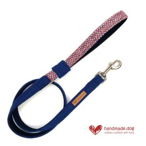 Handmade 'Harris Tweed' Limited Edition London Dog Lead