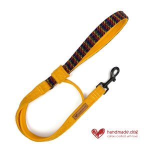 Handmade 'Harris Tweed' Limited Edition Manhattan Dog Lead