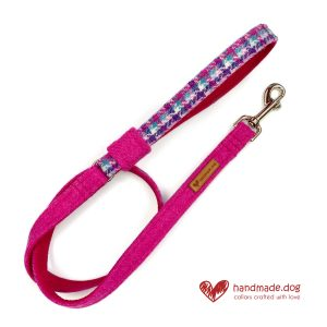 Handmade 'Harris Tweed' Limited Edition Miami Dog Lead