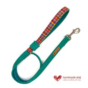 Handmade 'Harris Tweed' Limited Edition Rio Dog Lead