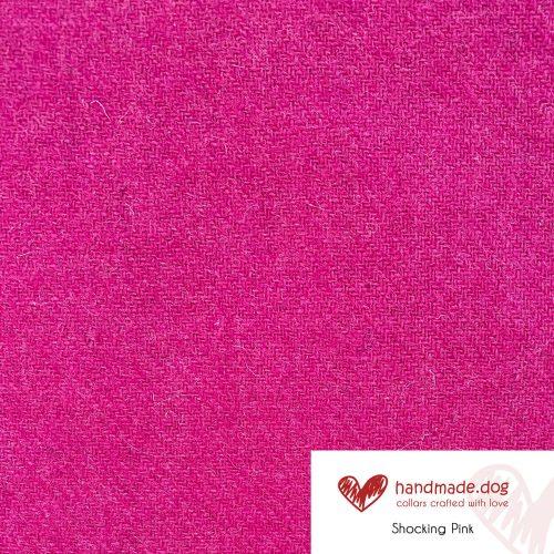 Shocking Pink 'Harris Tweed'