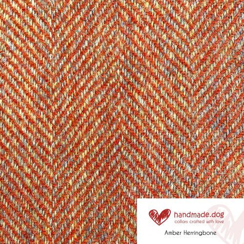 Amber Herringbone 'Harris Tweed'