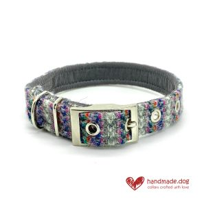 Handmade 'Harris Tweed' Limited Edition Oslo Dog Collar