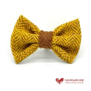 Handmade 'Harris Tweed' Limited Edition Cairo Dog Dickie Bow