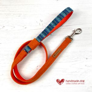 Handmade 'Harris Tweed' Limited Edition Madrid Dog Lead