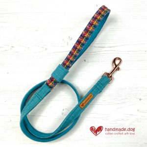 Handmade 'Harris Tweed' Limited Edition Marrakesh Dog Lead