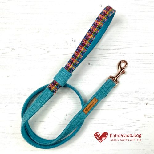 Handmade 'Harris Tweed' Limited Edition Marrakesh Dog Lead