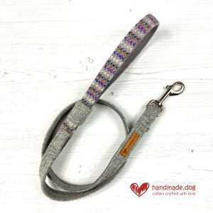 Handmade 'Harris Tweed' Limited Edition Oslo Dog Lead