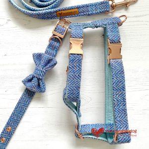 'Harris Tweed' Dog Harnesses