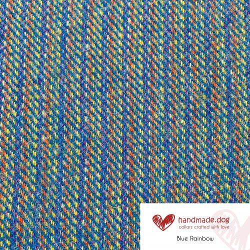 Blue Rainbow 'Harris Tweed'