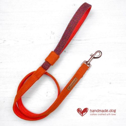 Handmade 'Harris Tweed' Limited Edition Jaipur Dog Lead.
