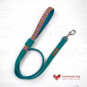 Handmade 'Harris Tweed' Limited Edition San Francisco Dog Lead.