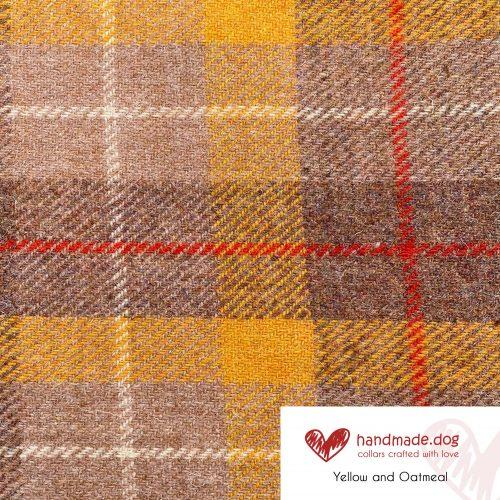 Yellow and Oatmeal 'Harris Tweed'
